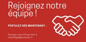 Ecomatic recrute !