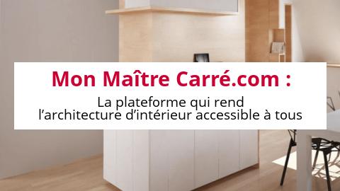 mon ma tre carr com la plateforme qui rend l architecture d int rieur accessible tous. Black Bedroom Furniture Sets. Home Design Ideas