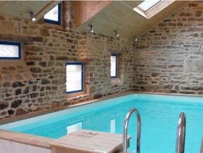 piscine bois intérieur