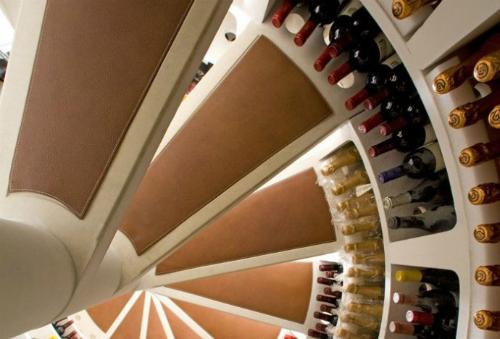 cave à vin ronde