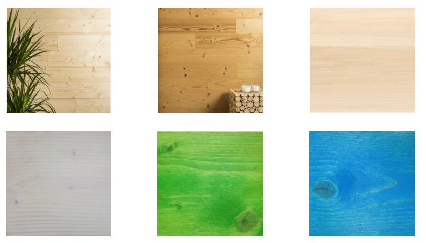 lames en bois adhésives renforcé x4